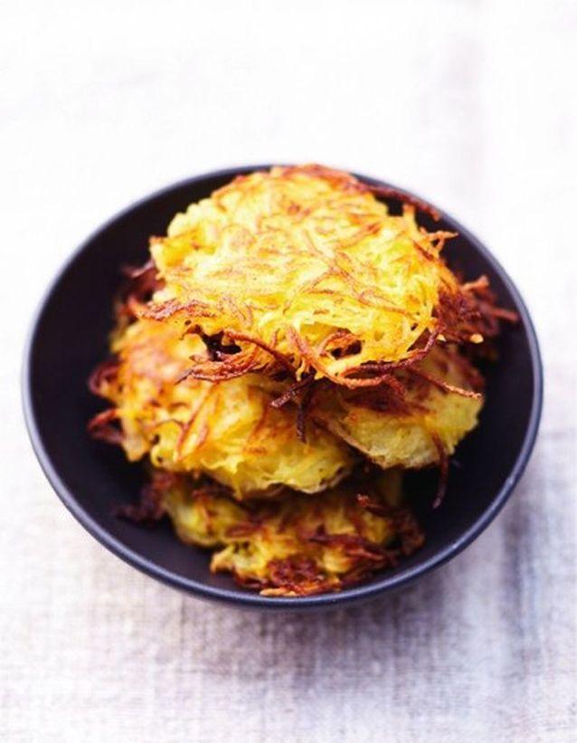 Les galettes de pommes de terre