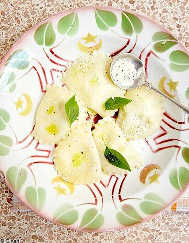 Cuisine recettes ete simple chypre erotokritos raviolis farcis halloumi