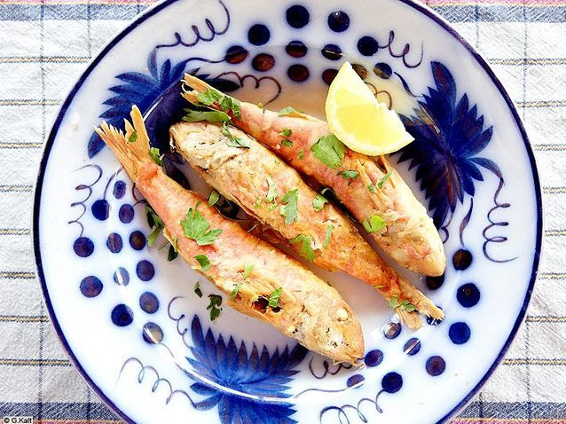 Cuisine recettes ete simple chypre erotokritos rougets barbets frits