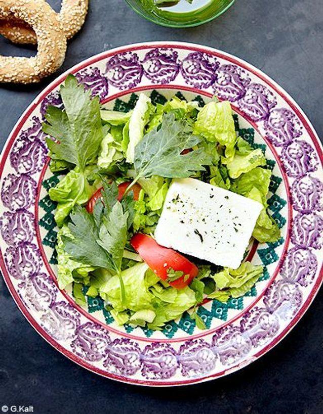 Cuisine recettes ete simple chypre erotokritos salade chypriote