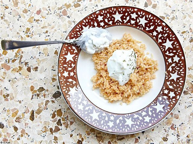 Cuisine recettes ete simple chypre erotokritos semoule pilaf