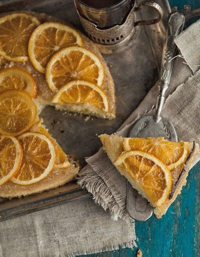 Tarte aux oranges
