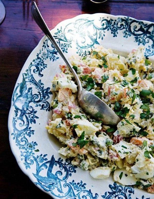 Salade piémontaise au persil