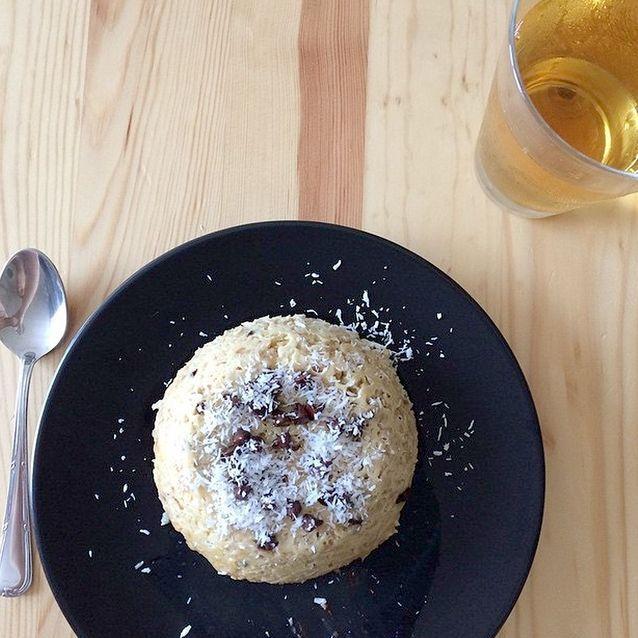 Bowl cake noix de coco chocolat