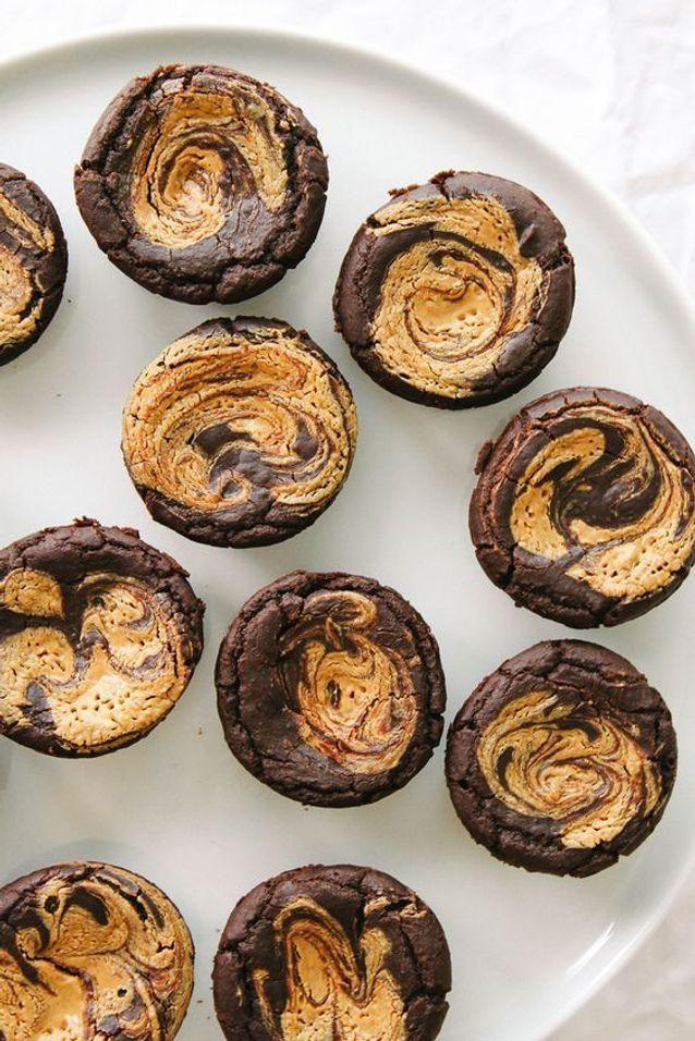 Brownie américain au beurre de cacahuètes