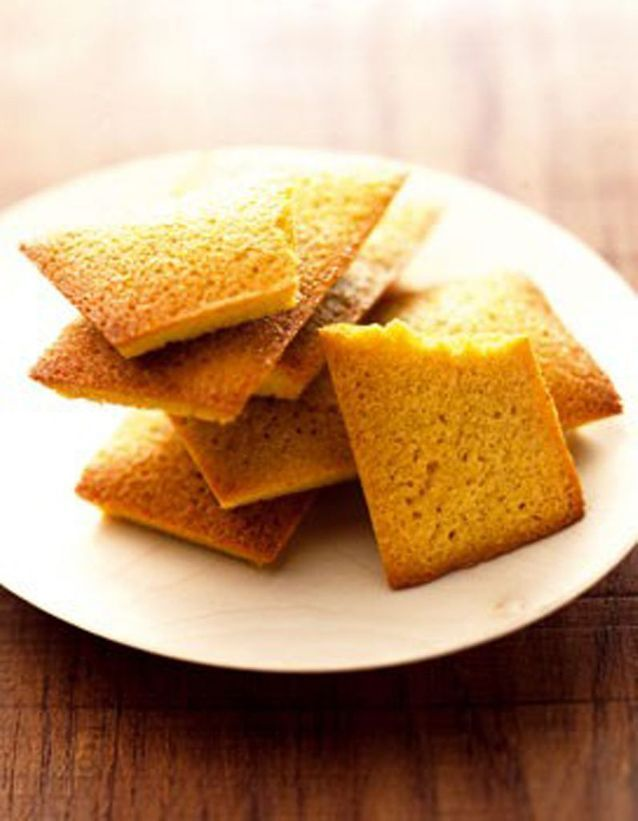 Financiers au curry