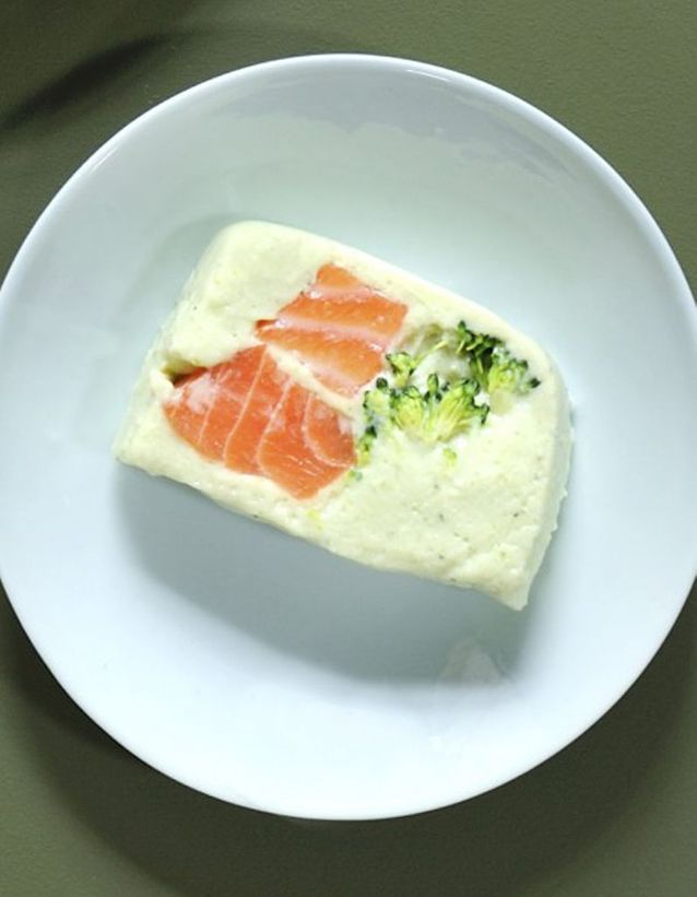 Terrine saumon-brocolis