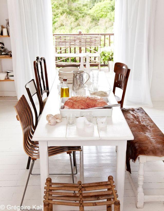 Sa table