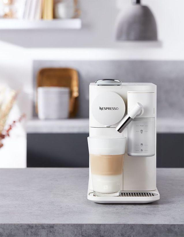 Des cafés lactés