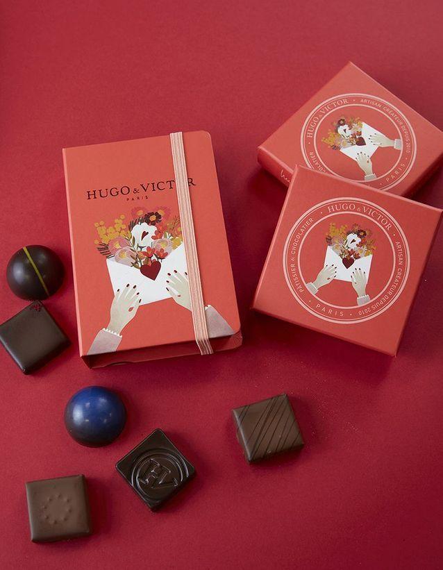 Chocolats Saint-Valentin Hugo & Victor