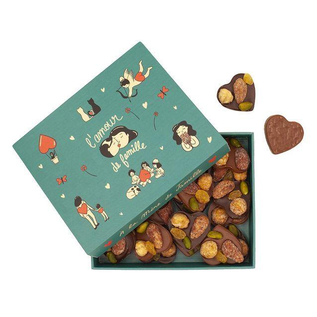 Chocolats Saint-Valentin A la Mère de Famille