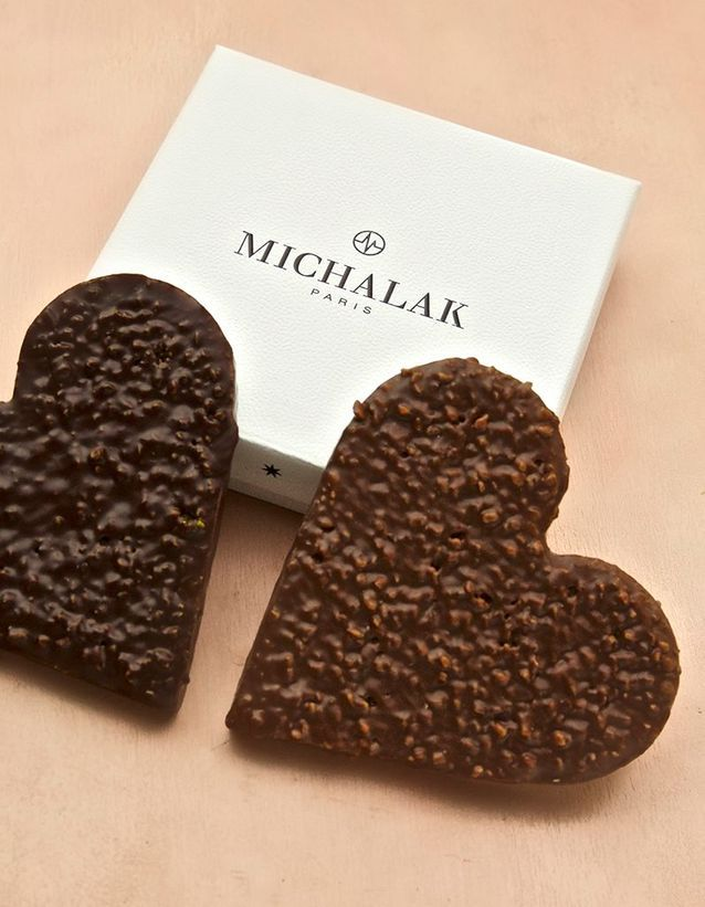 Chocolats Saint-Valentin Christophe Michalak