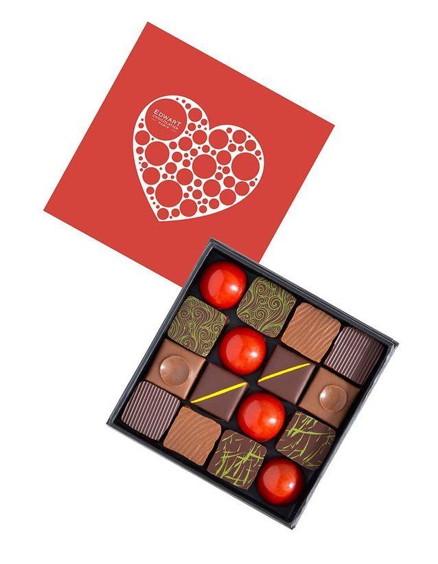 Chocolats Saint-Valentin Edwart Chocolatier