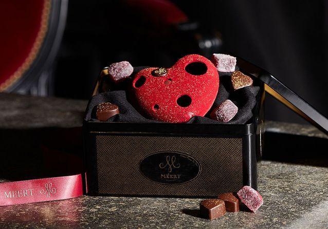 Chocolats Saint-Valentin Méert