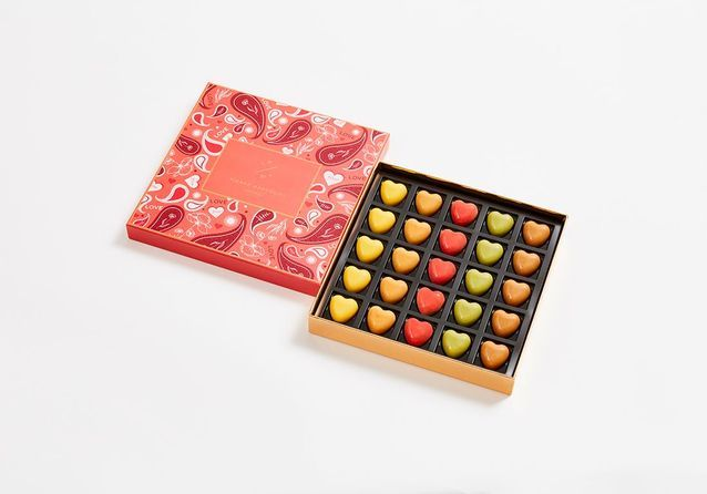 Chocolats Saint-Valentin Pierre Marcolini