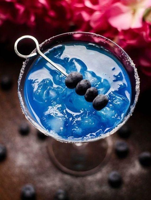 Cocktail bleu margarita