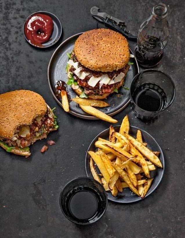 Burger veau et parmesan