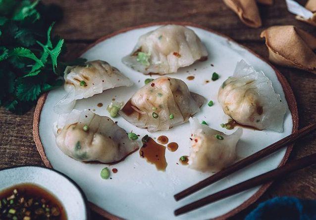 Pas à pas : Har Gao aux crevettes à la hongkongaise de Meg & Cook