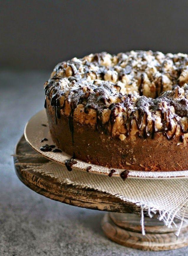 Crumb cake chocolat