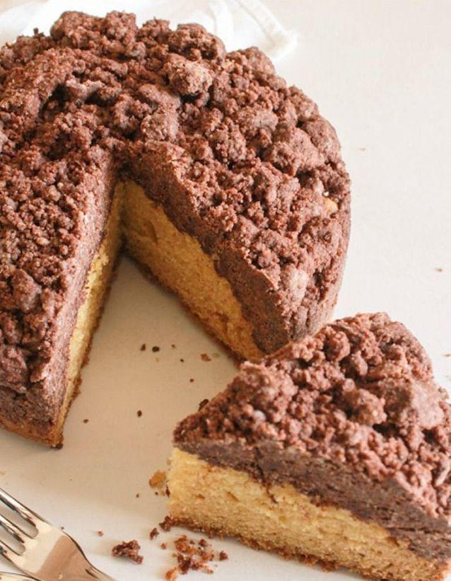 Crumb cake vanille chocolat