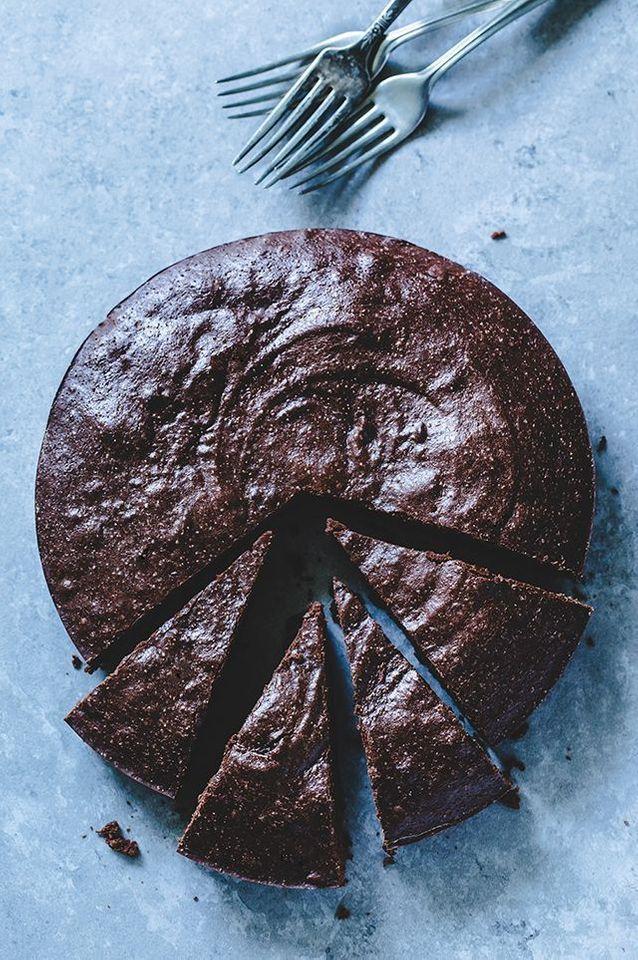 Cuisine campagne gâteau chocolat : Gâteau au chocolat et purée d'amande sans gluten