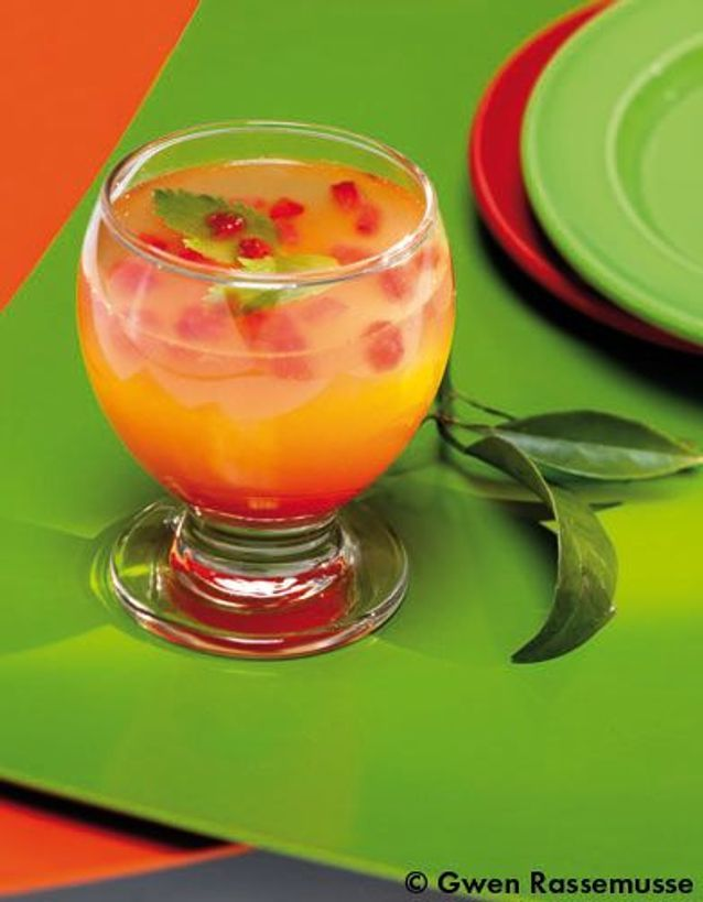 Soft cocktails d'instants flottants rafraîchissants