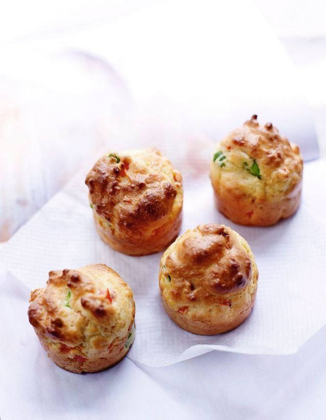Muffins Poivrons