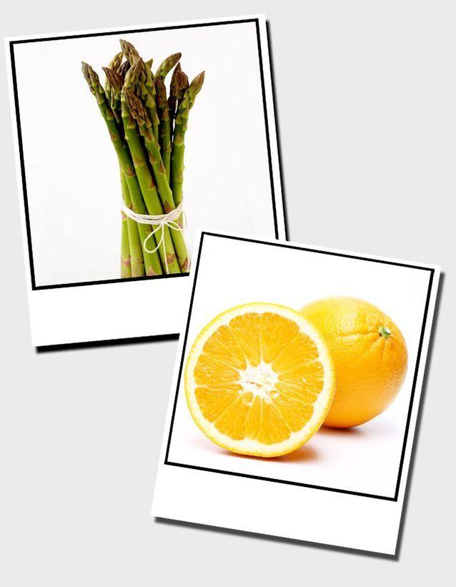 14  Asperges Et Oranges