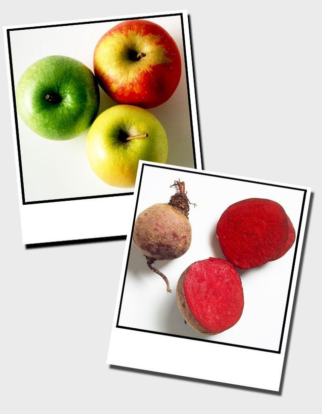 16  Pommes Et Betteraves