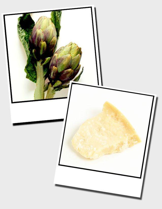 17  Artichauts Poivrade Et Parmesan