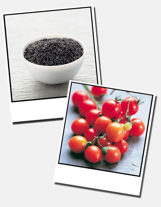 7  Tomates Cerises Et Pavot