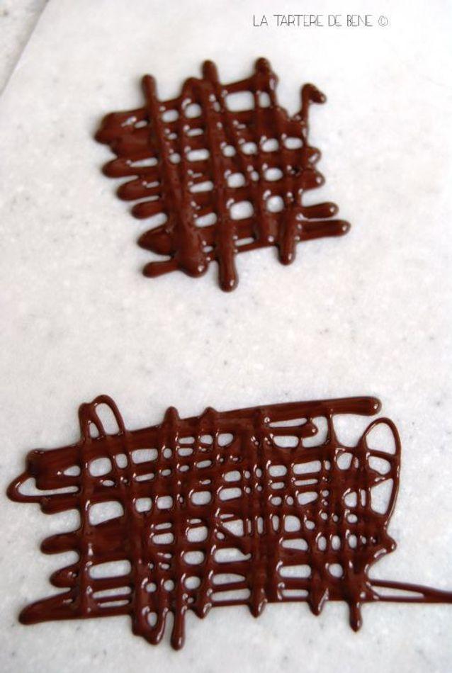 Decor En Chocolat Facile Des Decors En Chocolat A Croquer Elle A