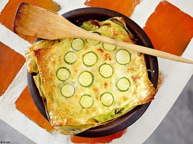 Cuisine recettes marrakech annick lestrohan lasagnes courgettes