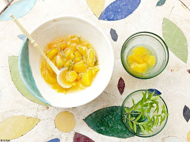 Cuisine recettes marrakech annick lestrohan soupe peche verveine