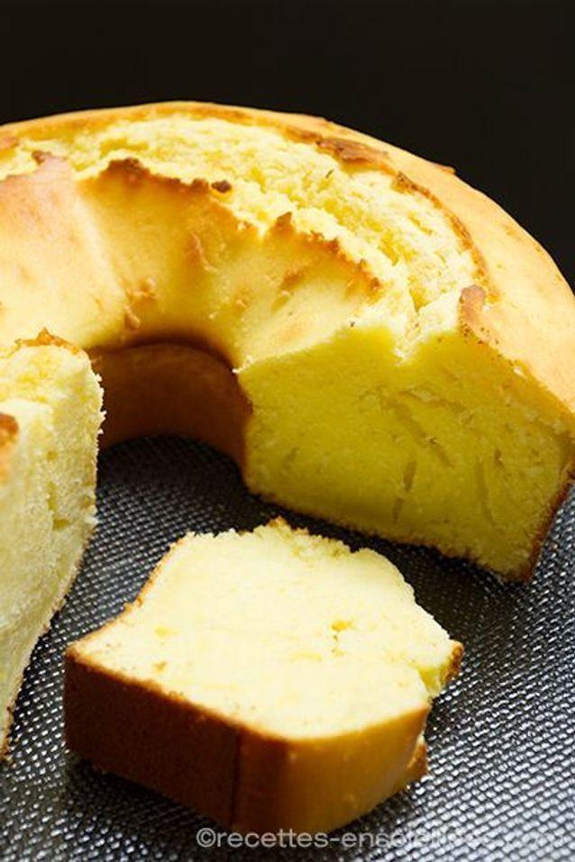 Un dessert maison léger : Gâteau au yaourt