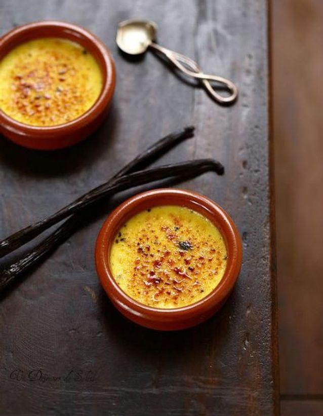 Un dessert maison recette : Crème brûlée