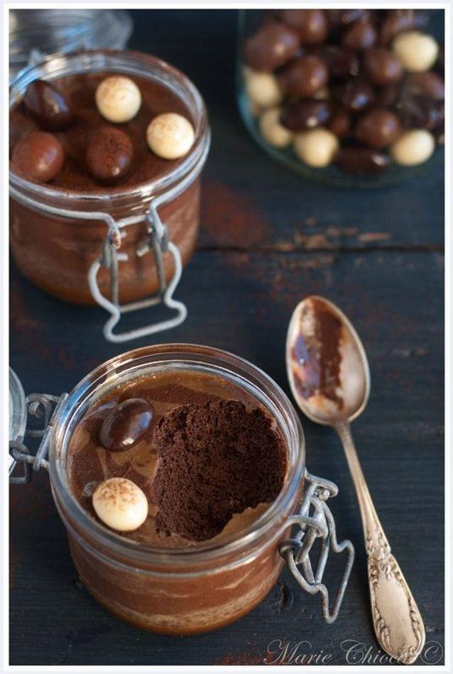 Un dessert maison verrine : Mousse au chocolat