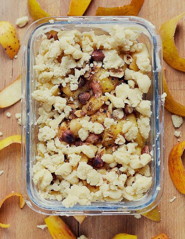Dessert automne pommes