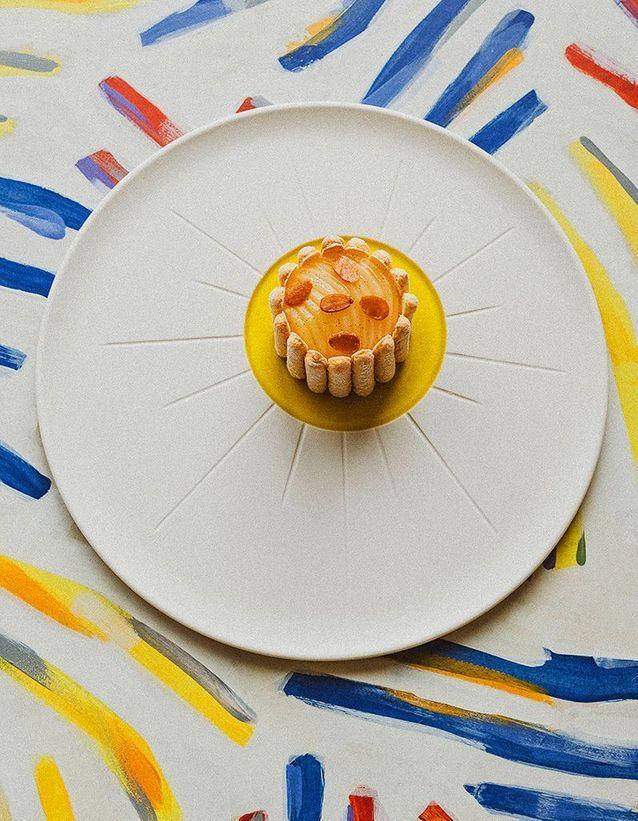 Dessert automne raffiné
