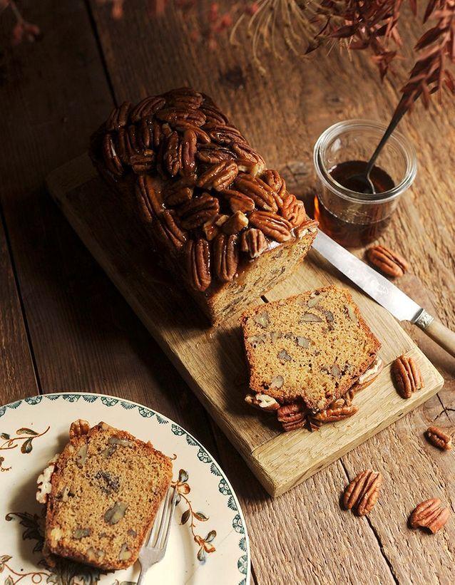 Dessert d'automne noix