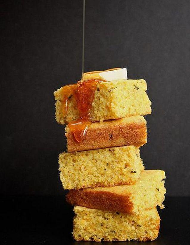 Corn bread aux clémentines