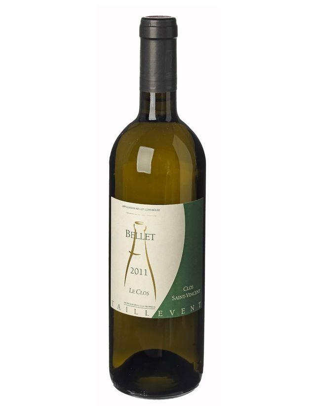 Vin Bellet blanc Le Clos 2011, Clos Saint-Vincent