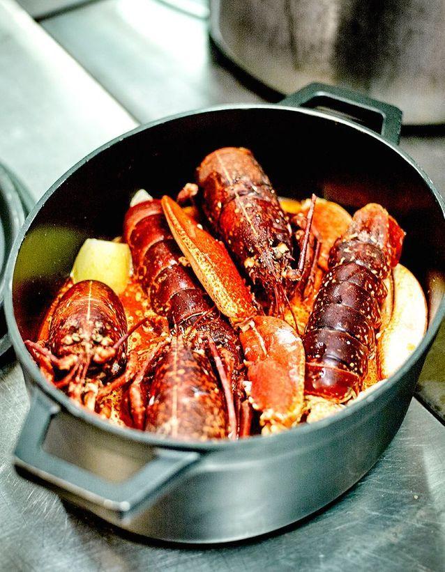 Le homard d'Arnaud Lallement