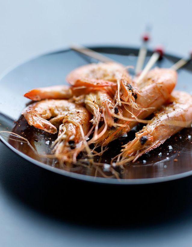 Les crevettes Qwehli