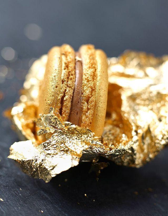 Les feuilles d'or alimentaire