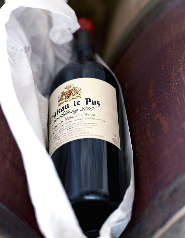 Les vins nature du château le puy