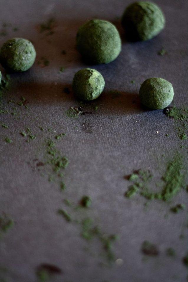 Energy balls spiruline chanvre