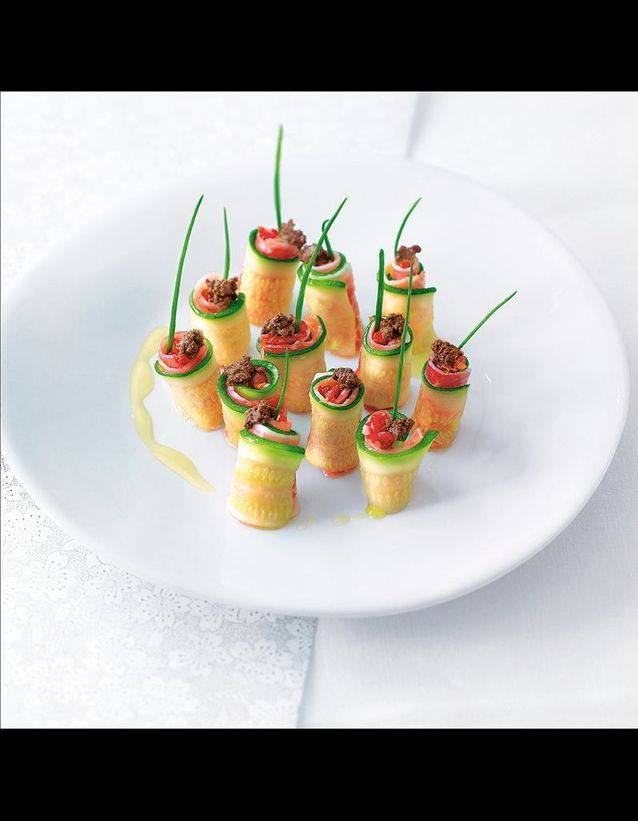 Makis courgettes