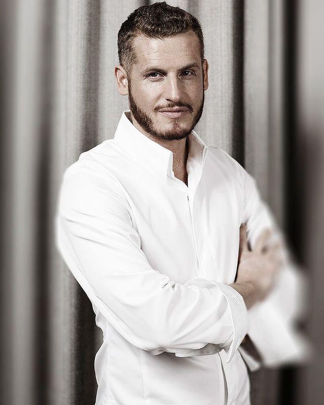 Yann Couvreur, pâtissier  ex-Prince de Galles