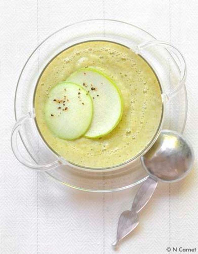 Soupe pommes brocolis